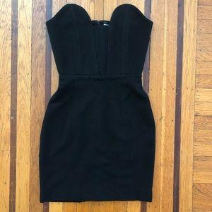 NEW women's AQUA black cocktail dress 6 4 S LBD